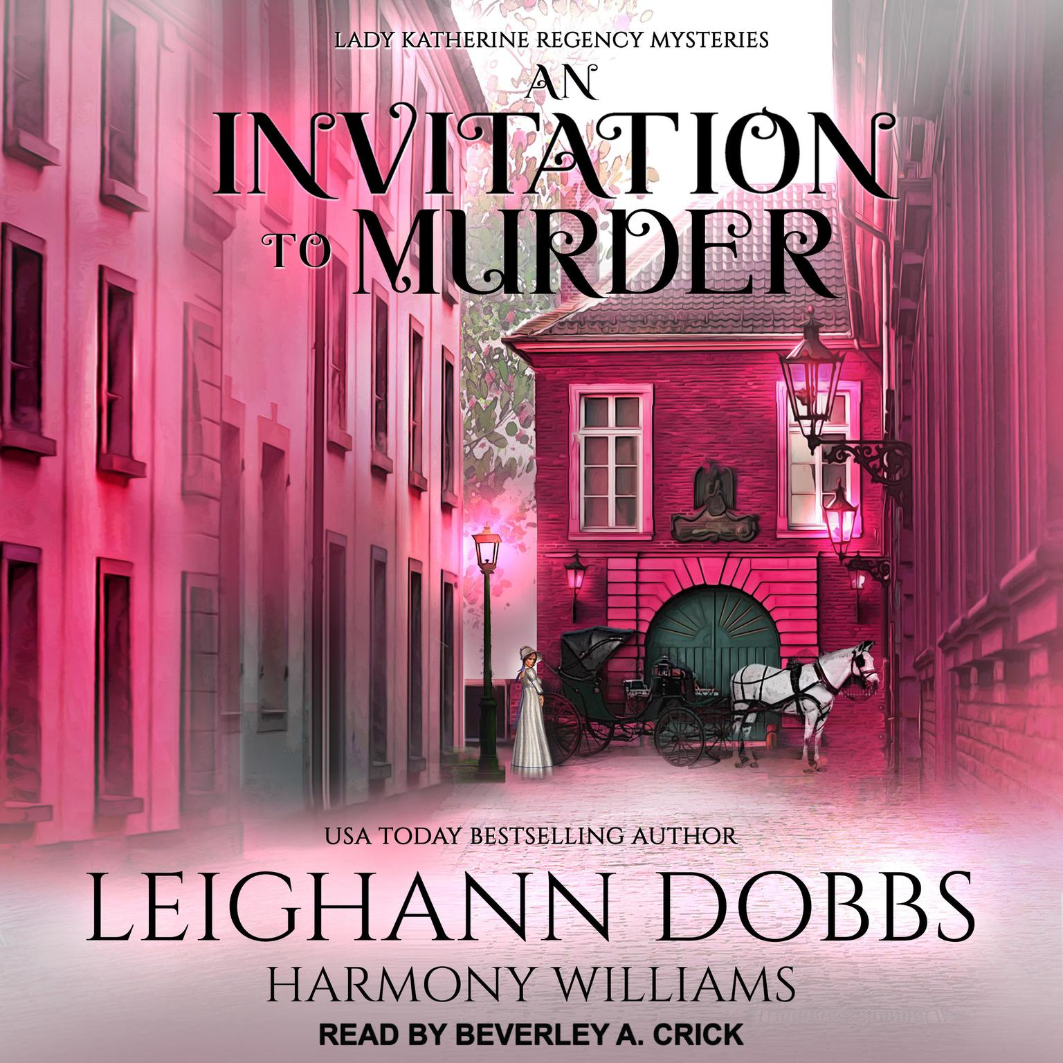 Printable An Invitation To Murder Audiobook Cover Art