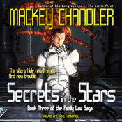 Secrets in the Stars Audiobook, by Mackey Chandler|