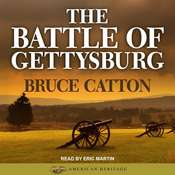 The Battle of Gettysburg Audiobook, by Bruce Catton