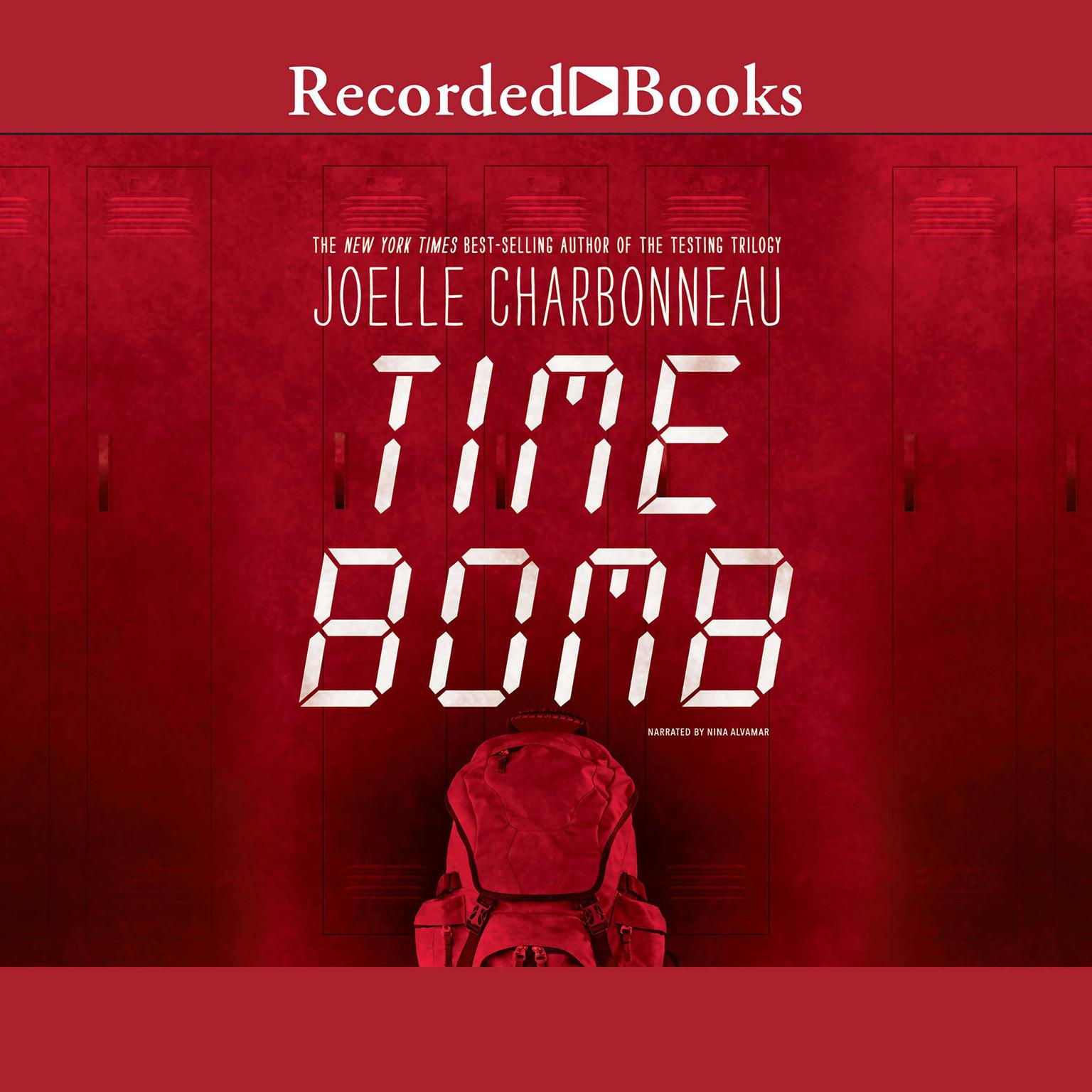 Printable Time Bomb Audiobook Cover Art
