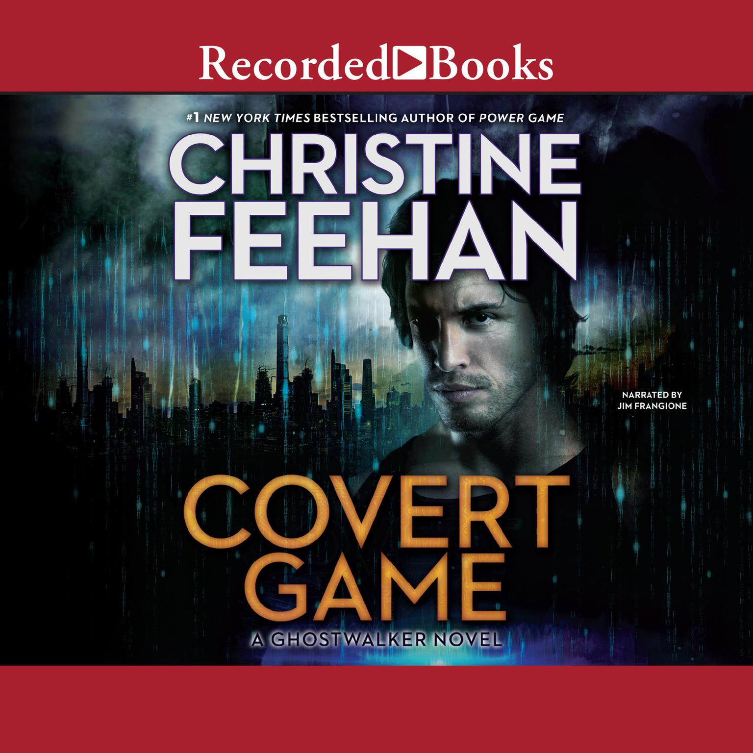 Printable Covert Game Audiobook Cover Art