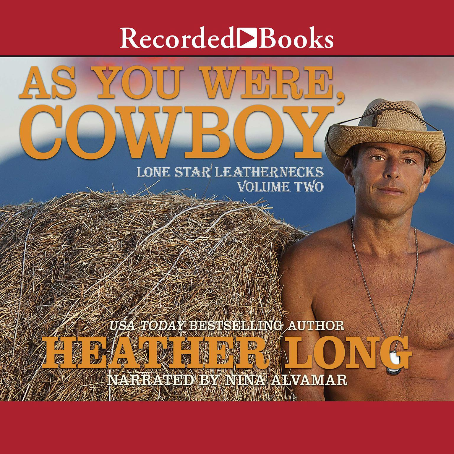 Printable As You Were, Cowboy Audiobook Cover Art