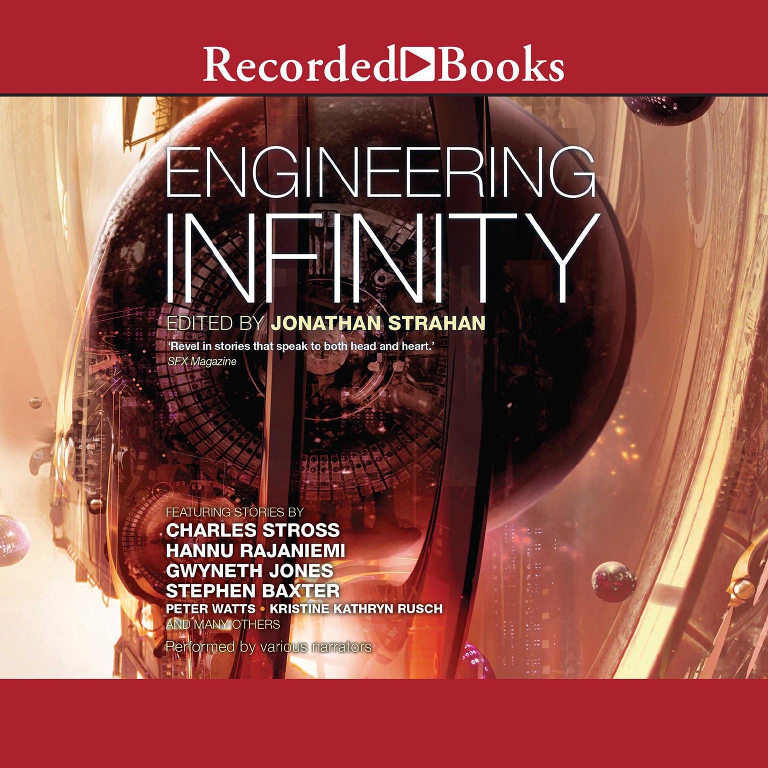 Printable Engineering Infinity Audiobook Cover Art