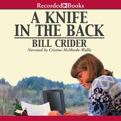 A Knife in the Back Audiobook, by Bill Crider