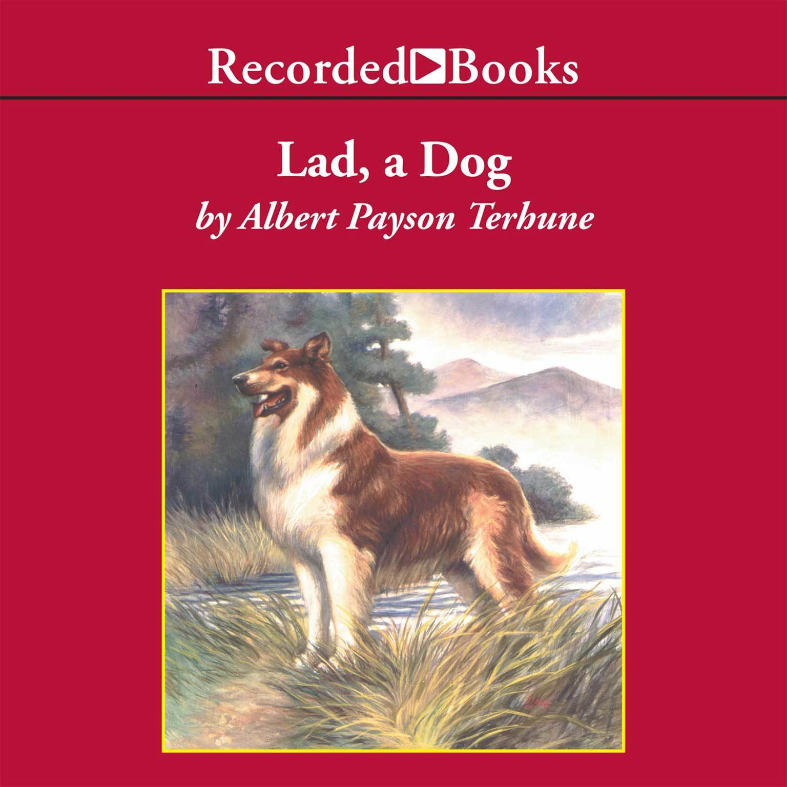 Printable Lad: A Dog Audiobook Cover Art