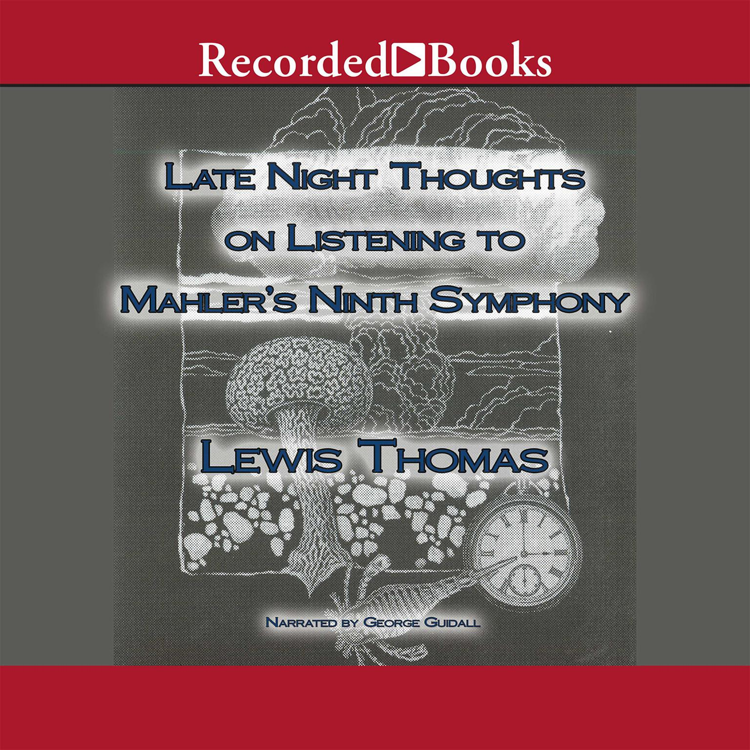 Printable Late Night Thoughts on Listening to Mahler's Ninth Symphony Audiobook Cover Art