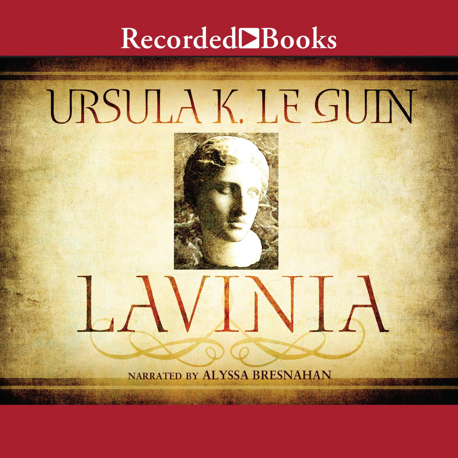 Printable Lavinia Audiobook Cover Art