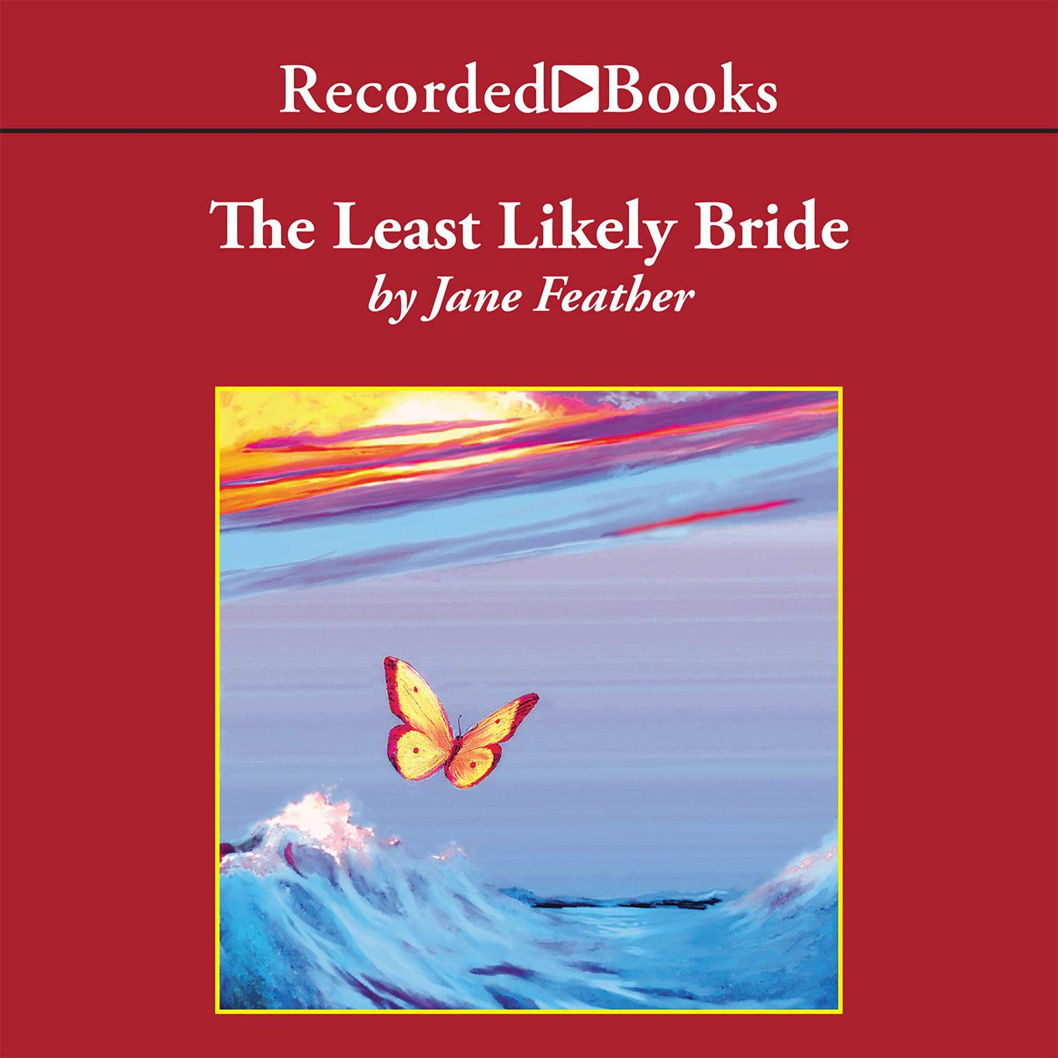 Printable The Least Likely Bride Audiobook Cover Art