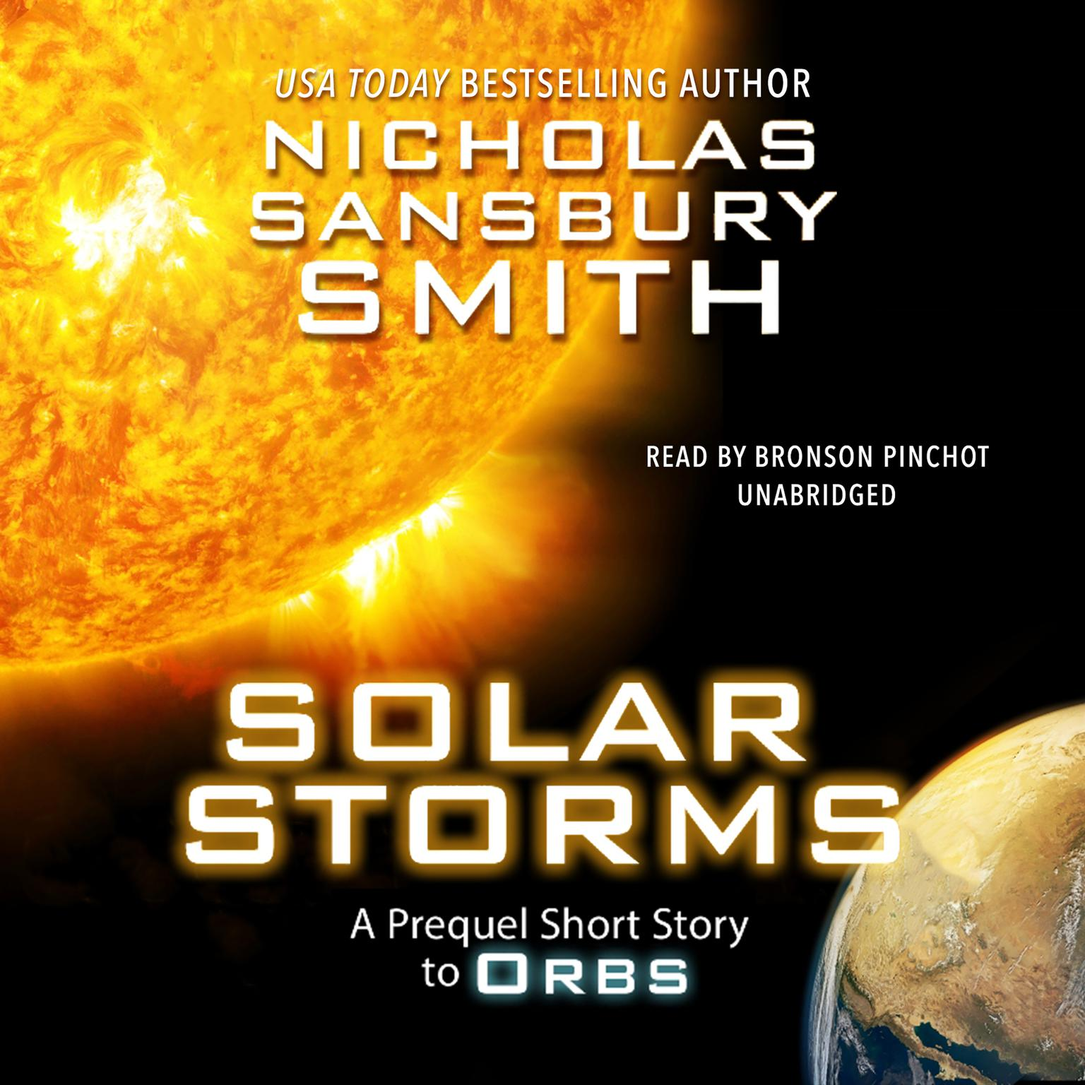 Printable Solar Storms: An Orbs Prequel Audiobook Cover Art
