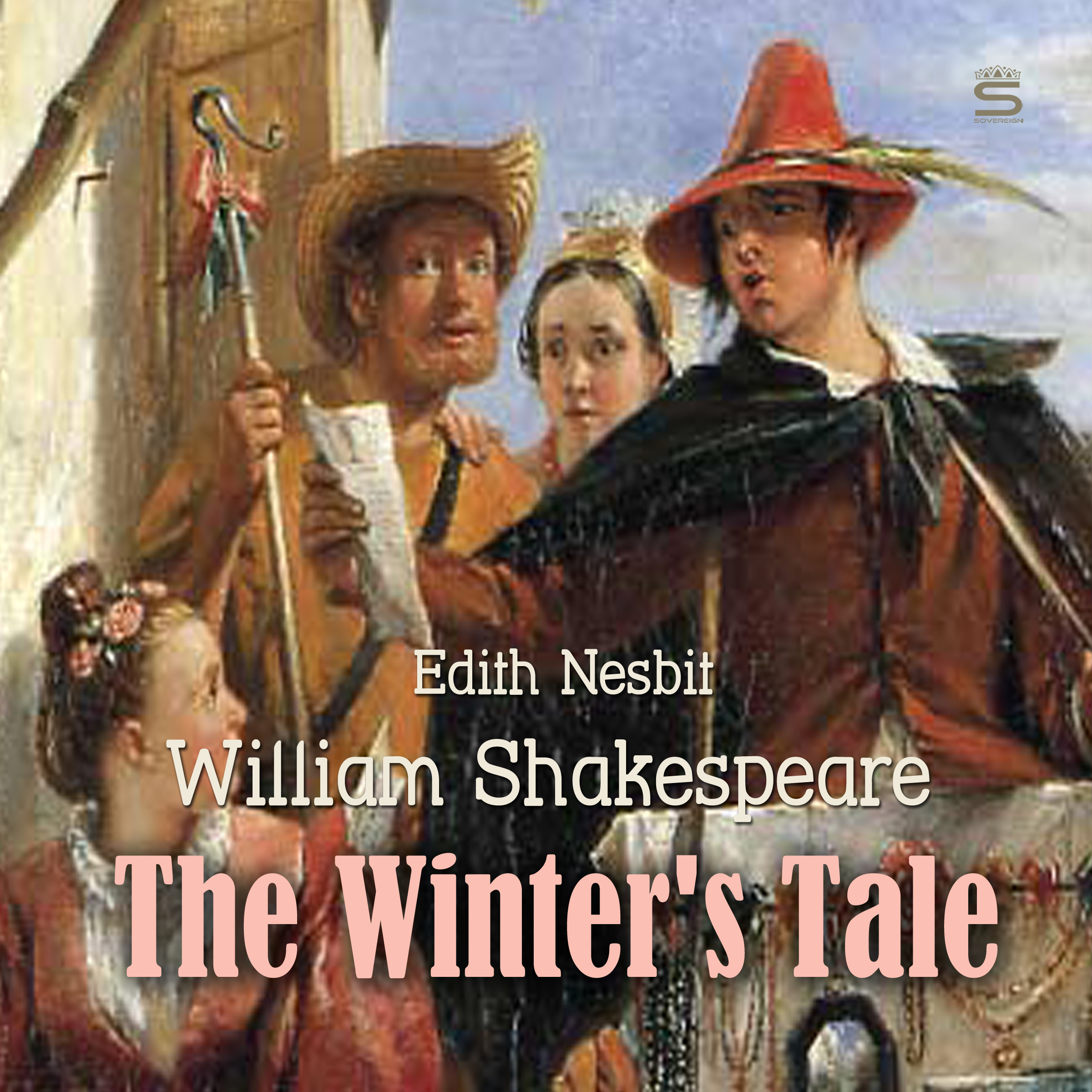 Printable The Winter's Tale Audiobook Cover Art