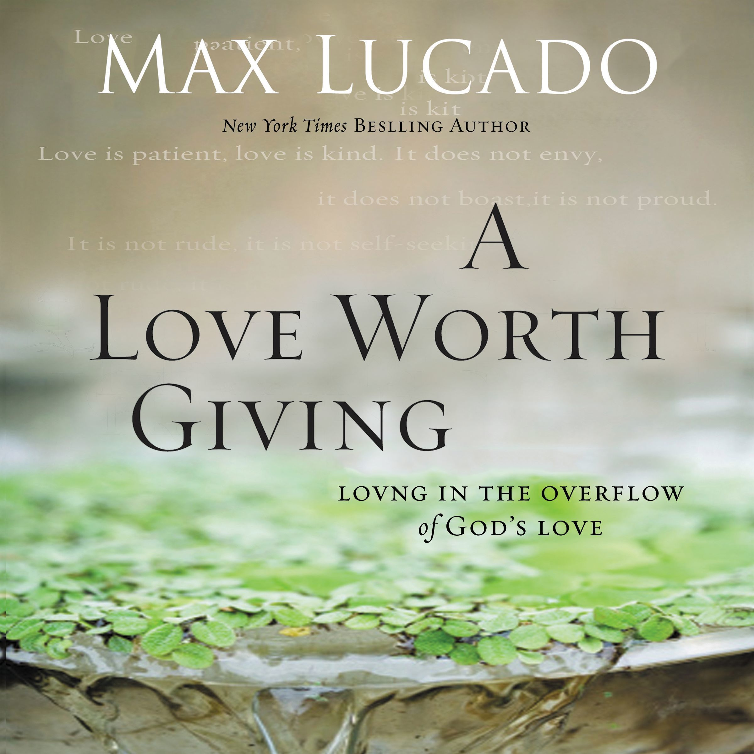 A Love Worth Giving Audiobook Listen Instantly