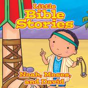 Little Bible Stories: Noah, Moses, and David Audiobook, by Johannah  Gilman Paiva