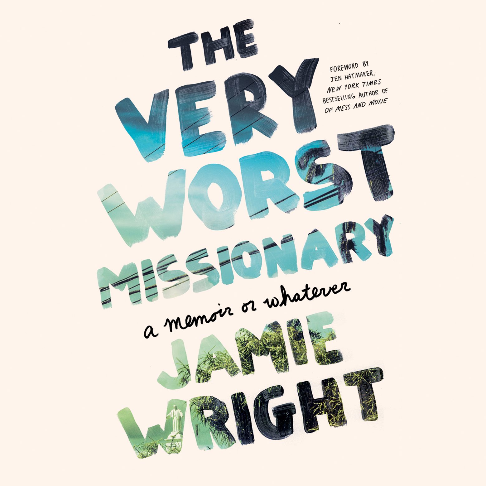 Printable The Very Worst Missionary: A Memoir or Whatever Audiobook Cover Art