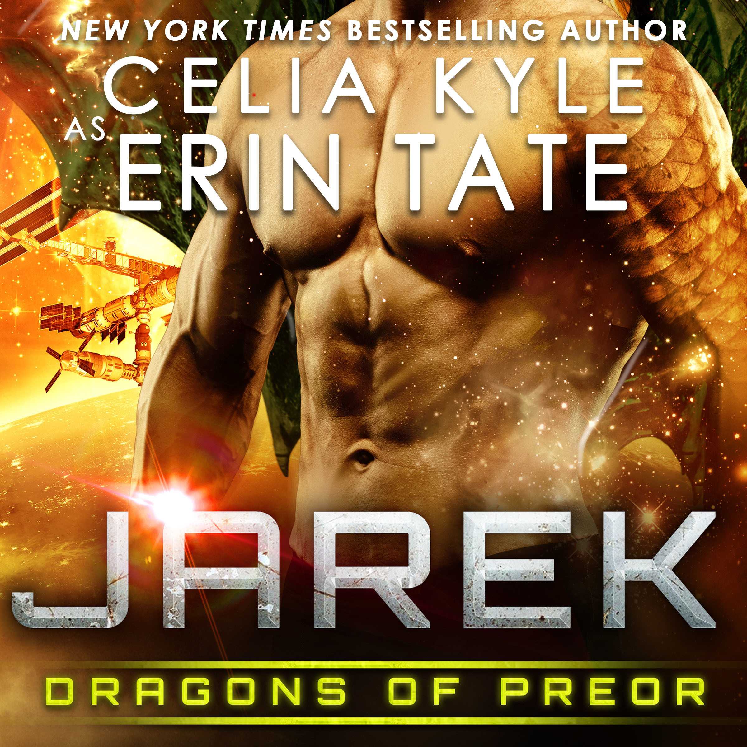 Printable Jarek: Dragons of Preor Book 1 Audiobook Cover Art