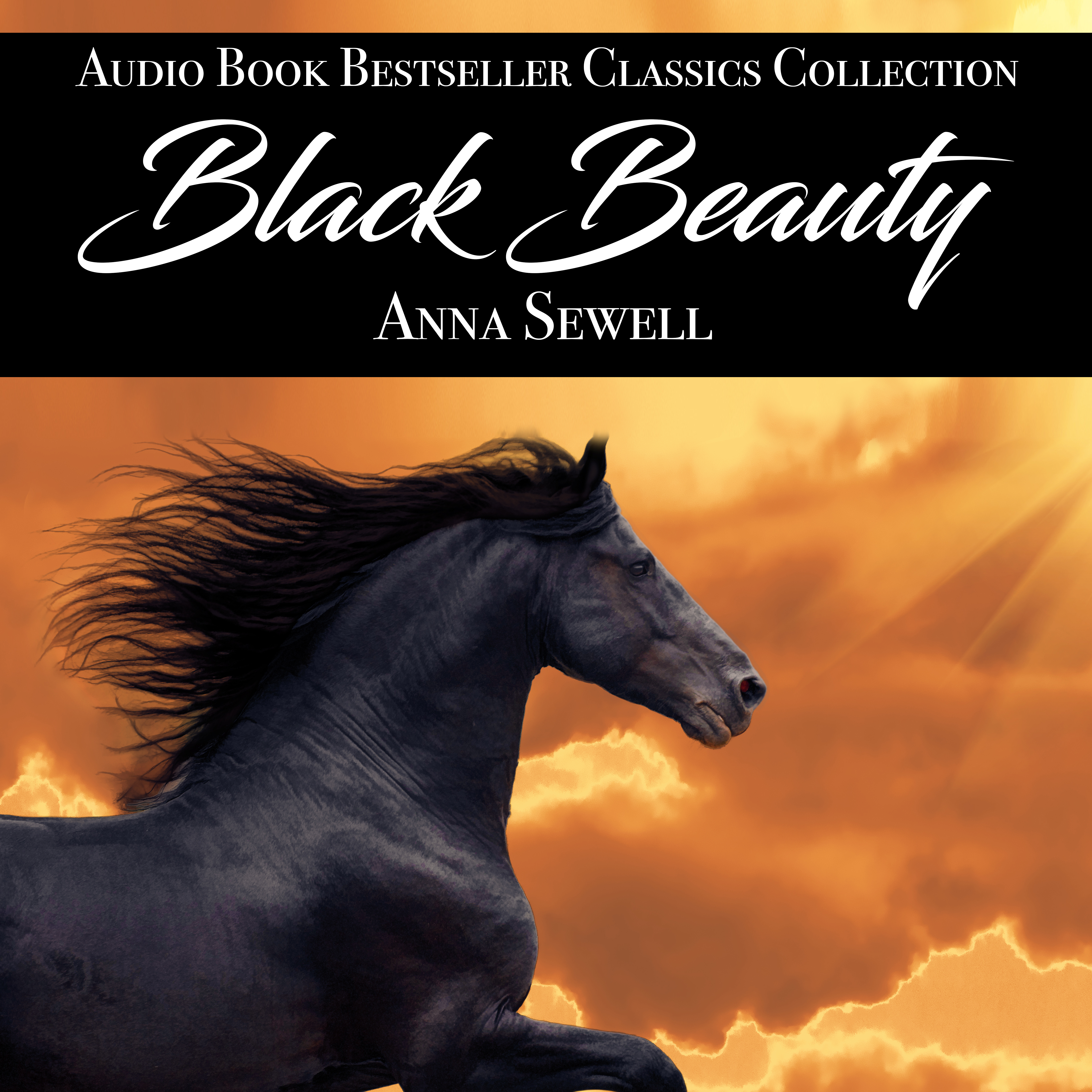 Printable Black Beauty Audiobook Cover Art