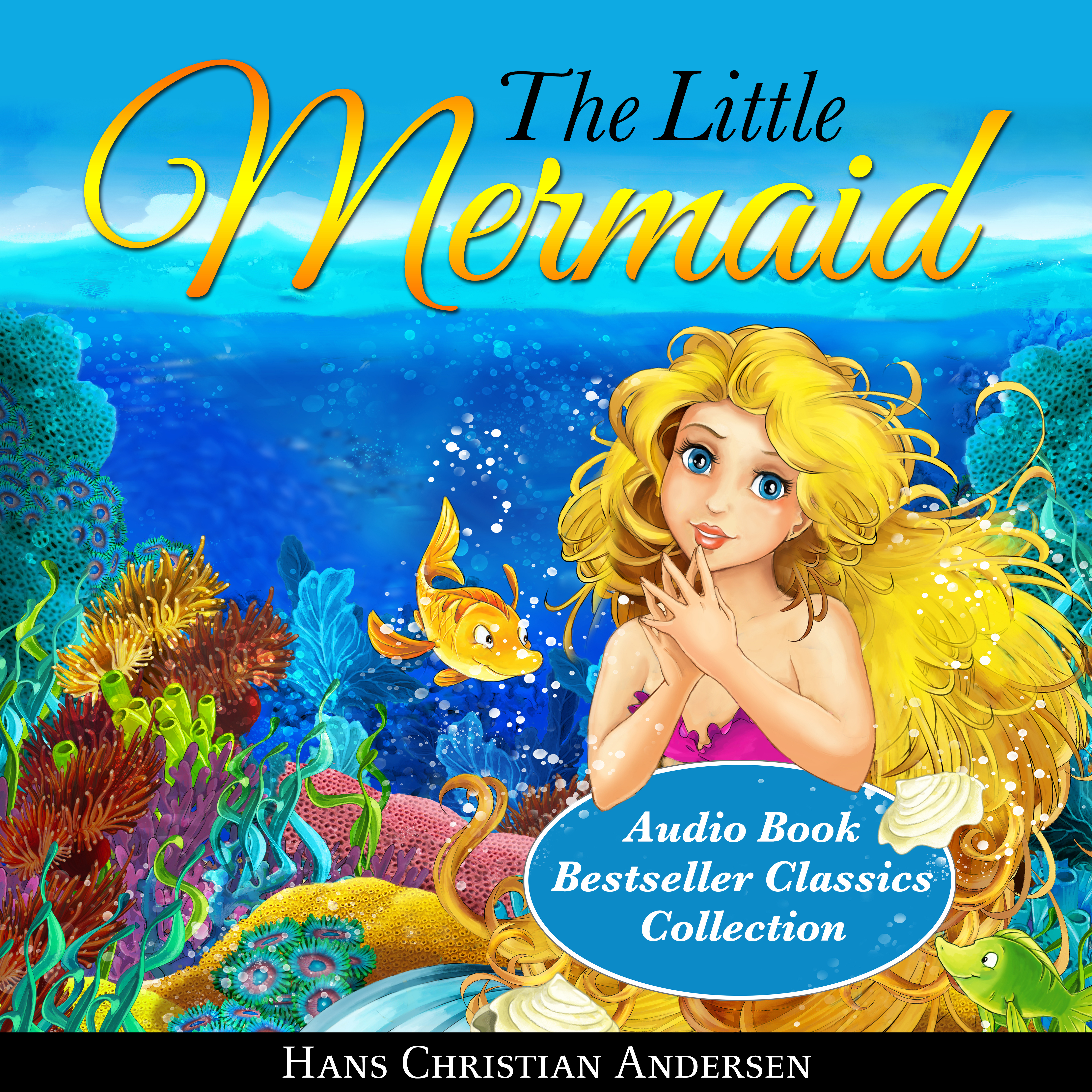 Printable The Little Mermaid Audiobook Cover Art