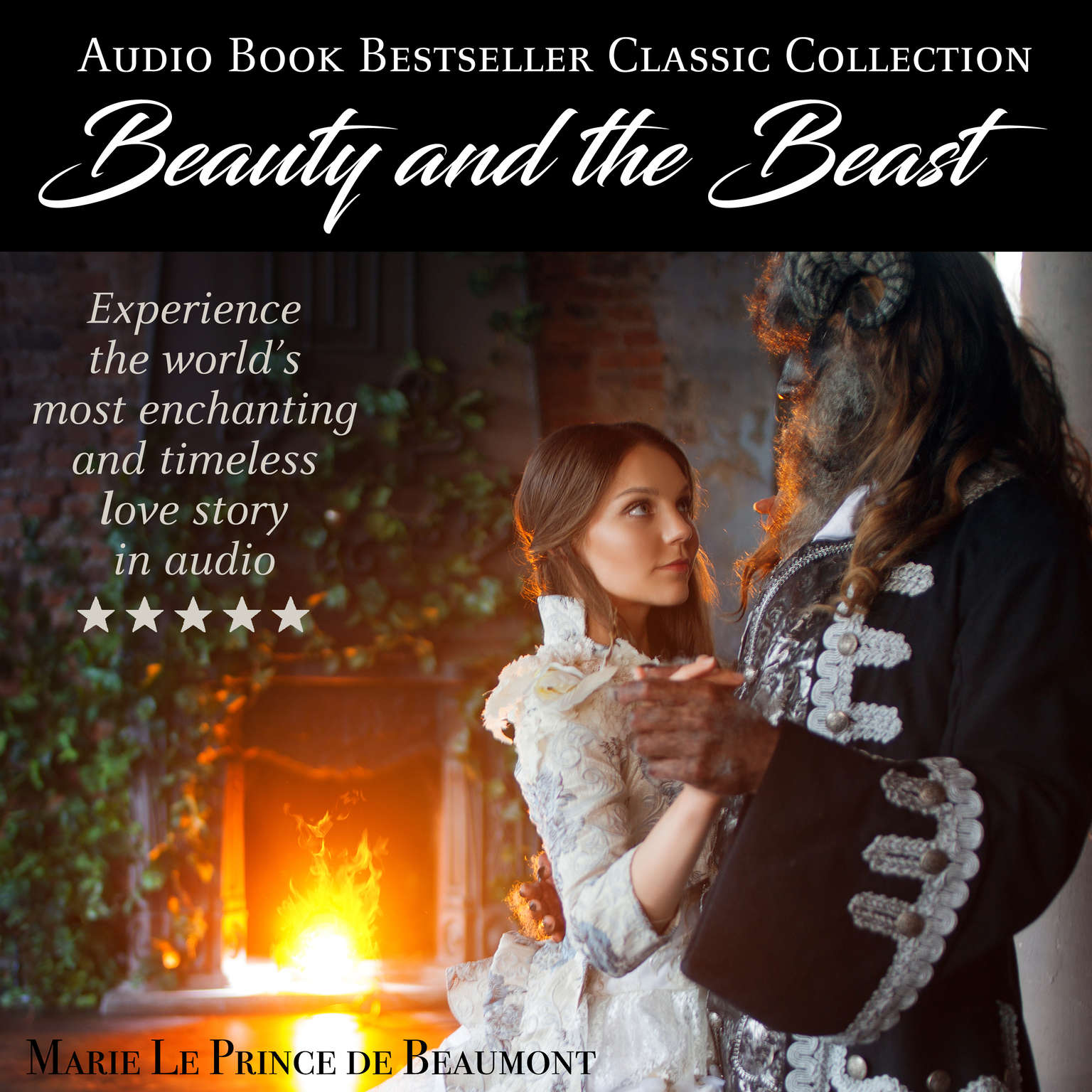Beauty and the Beast Audiobook, by Jeanne-Marie Le Prince de Beaumont