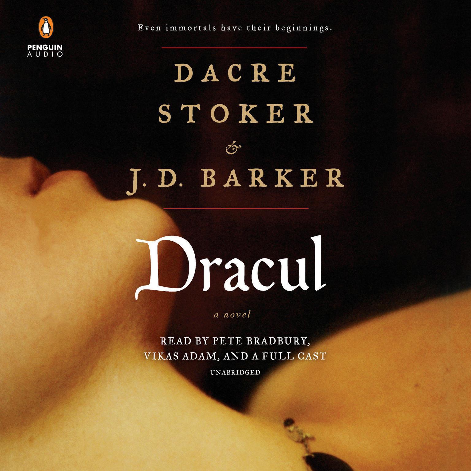 Printable Dracul Audiobook Cover Art