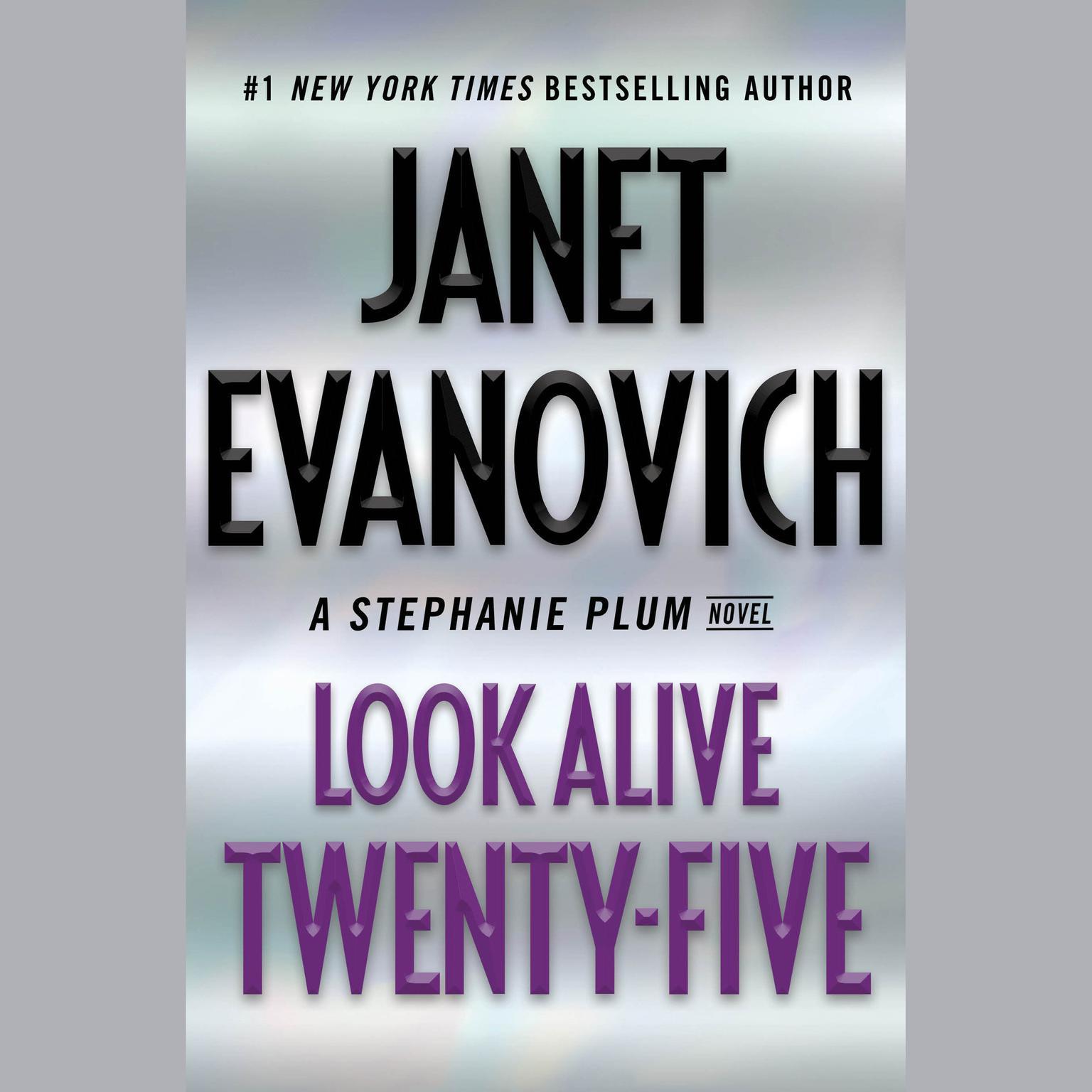 Printable Look Alive Twenty-Five: A Stephanie Plum Novel Audiobook Cover Art