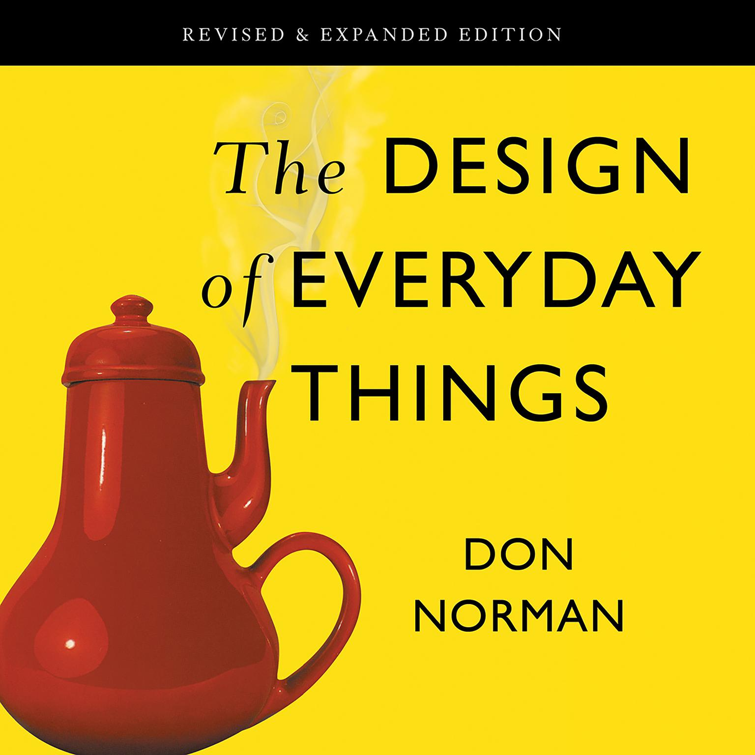 Printable The Design of Everyday Things: Revised and Expanded Edition Audiobook Cover Art
