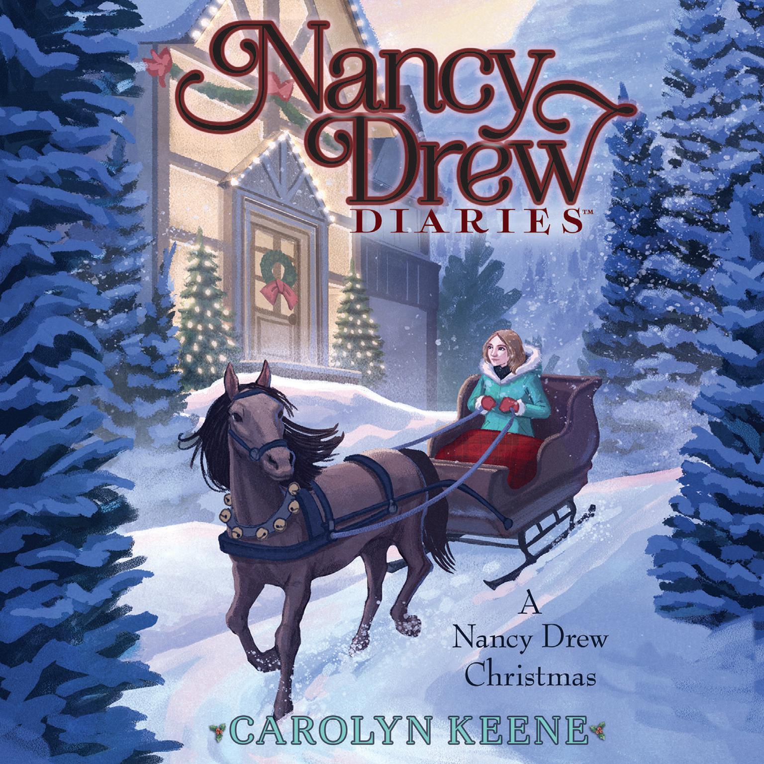 Printable A Nancy Drew Christmas Audiobook Cover Art