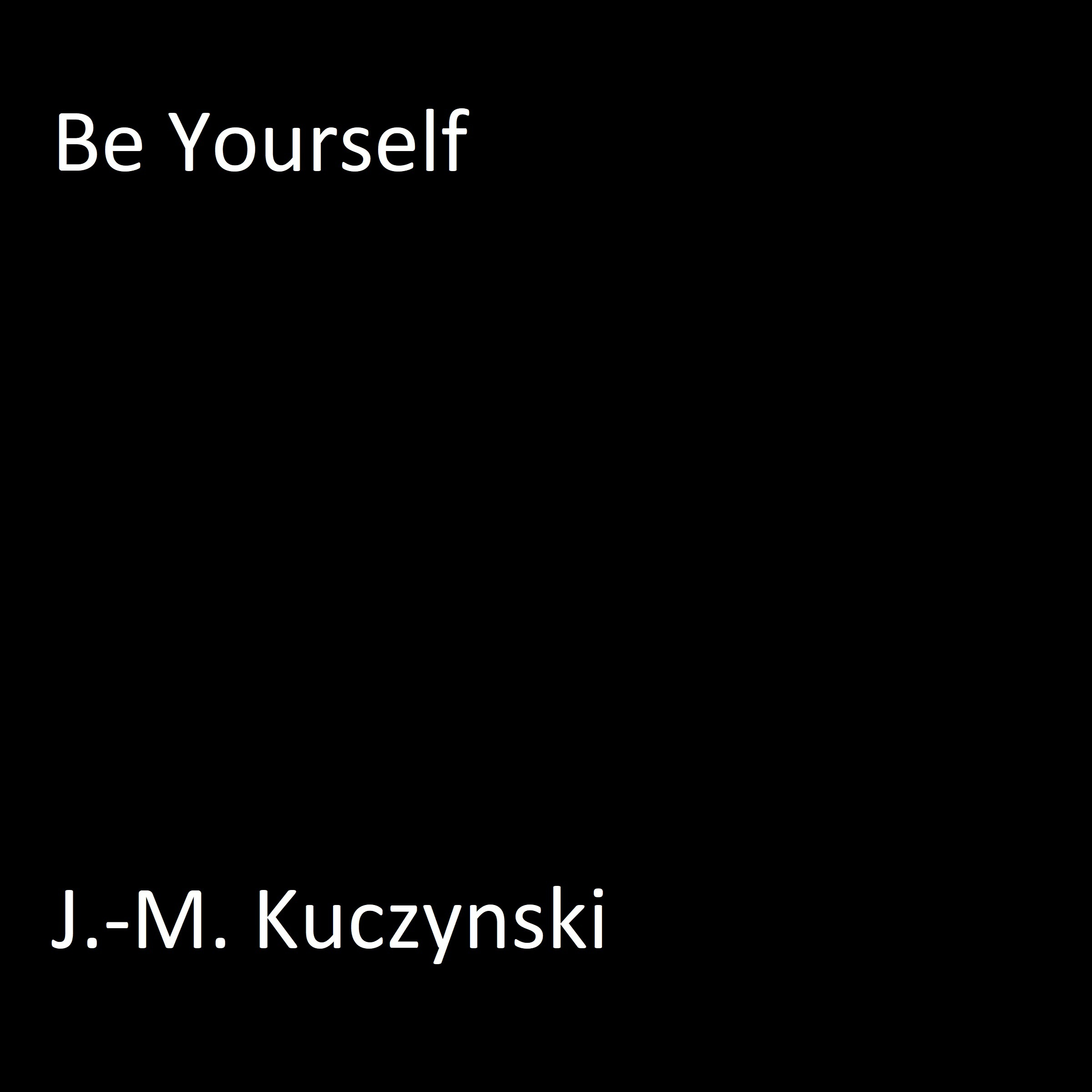 Printable Be Yourself Audiobook Cover Art
