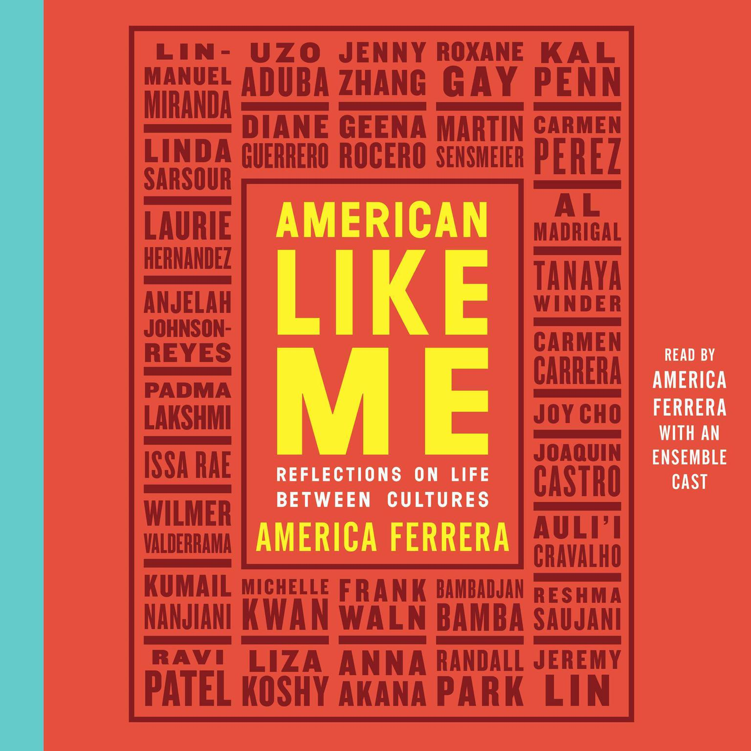 Printable American Like Me: Reflections on Life between Cultures Audiobook Cover Art