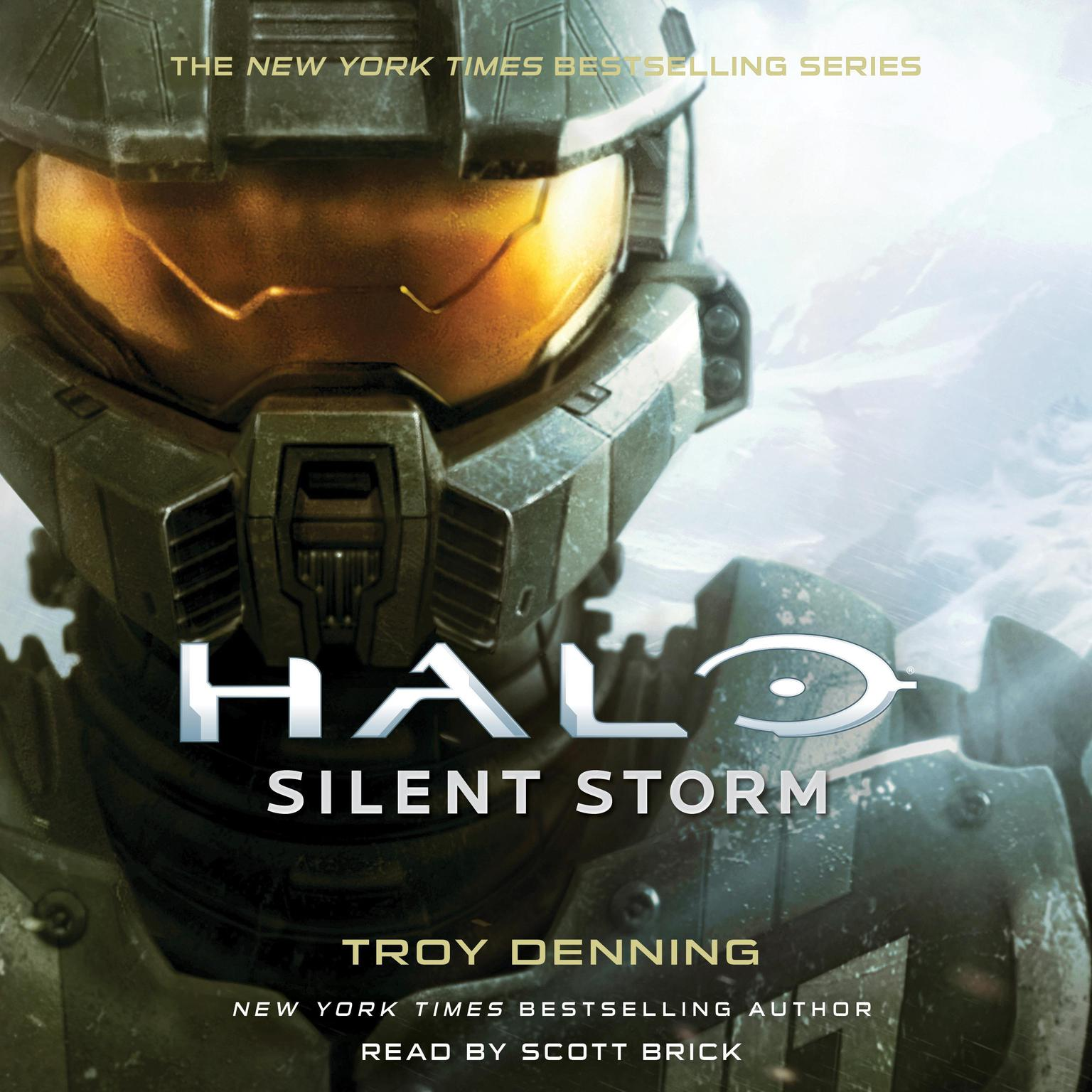 Printable Halo: Silent Storm: A Master Chief Story Audiobook Cover Art