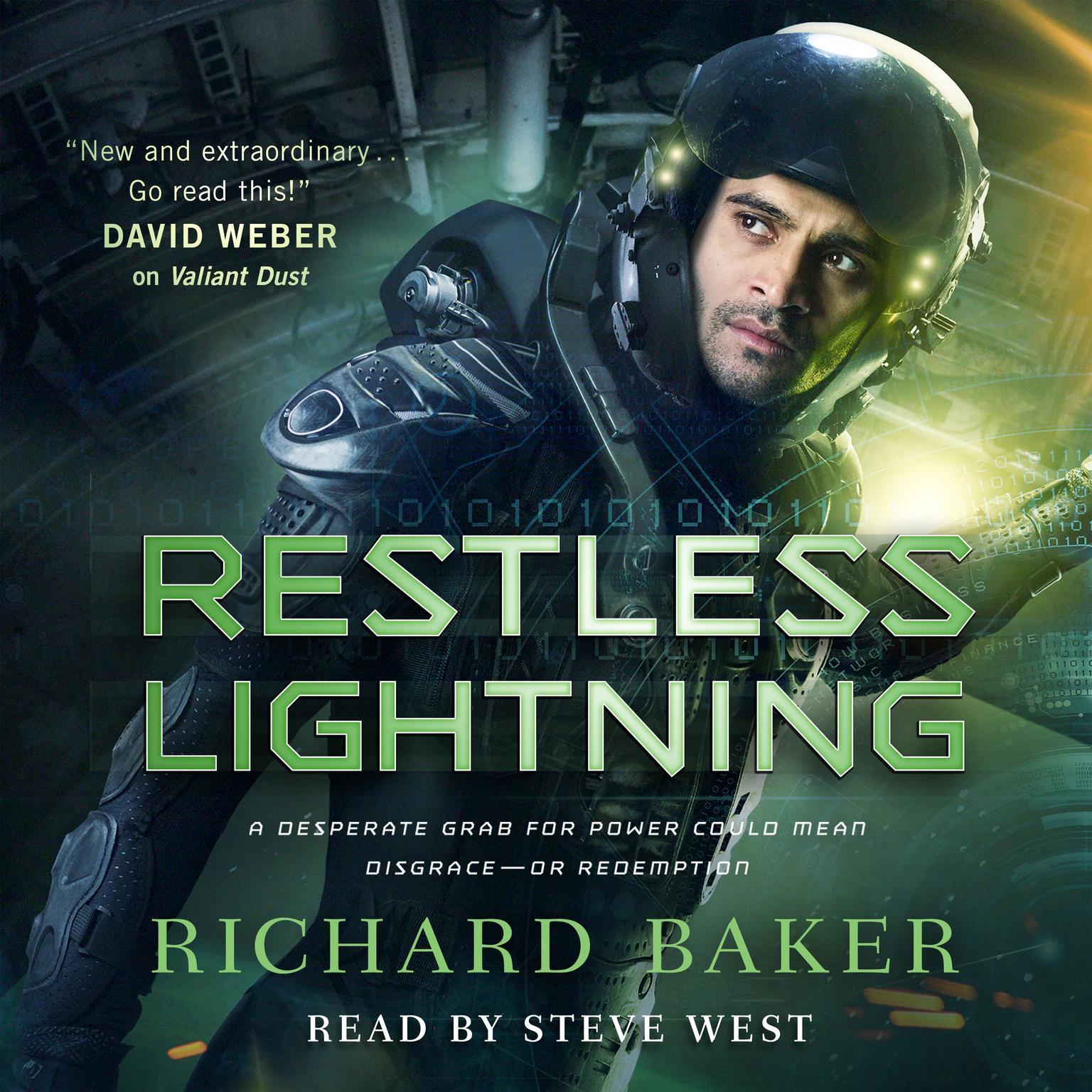 Printable Restless Lightning: Breaker of Empires, Book 2 Audiobook Cover Art