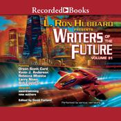 Writers of the Future Volume 31 Audiobook, by Larry Niven, L. Ron Hubbard, Orson Scott Card, Martin L. Shoemaker, Amy H. Hughes, Auston Habershaw, Daniel J. Davis, Kary English, Kevin A. Anderson, Krystal Claxton, Michael T. Banker, Rebecca Moesta, Samantha Murray, Scott R. Parkin, Sharon Joss, Steve Pantazis, Tim Napper, Zach Chapman