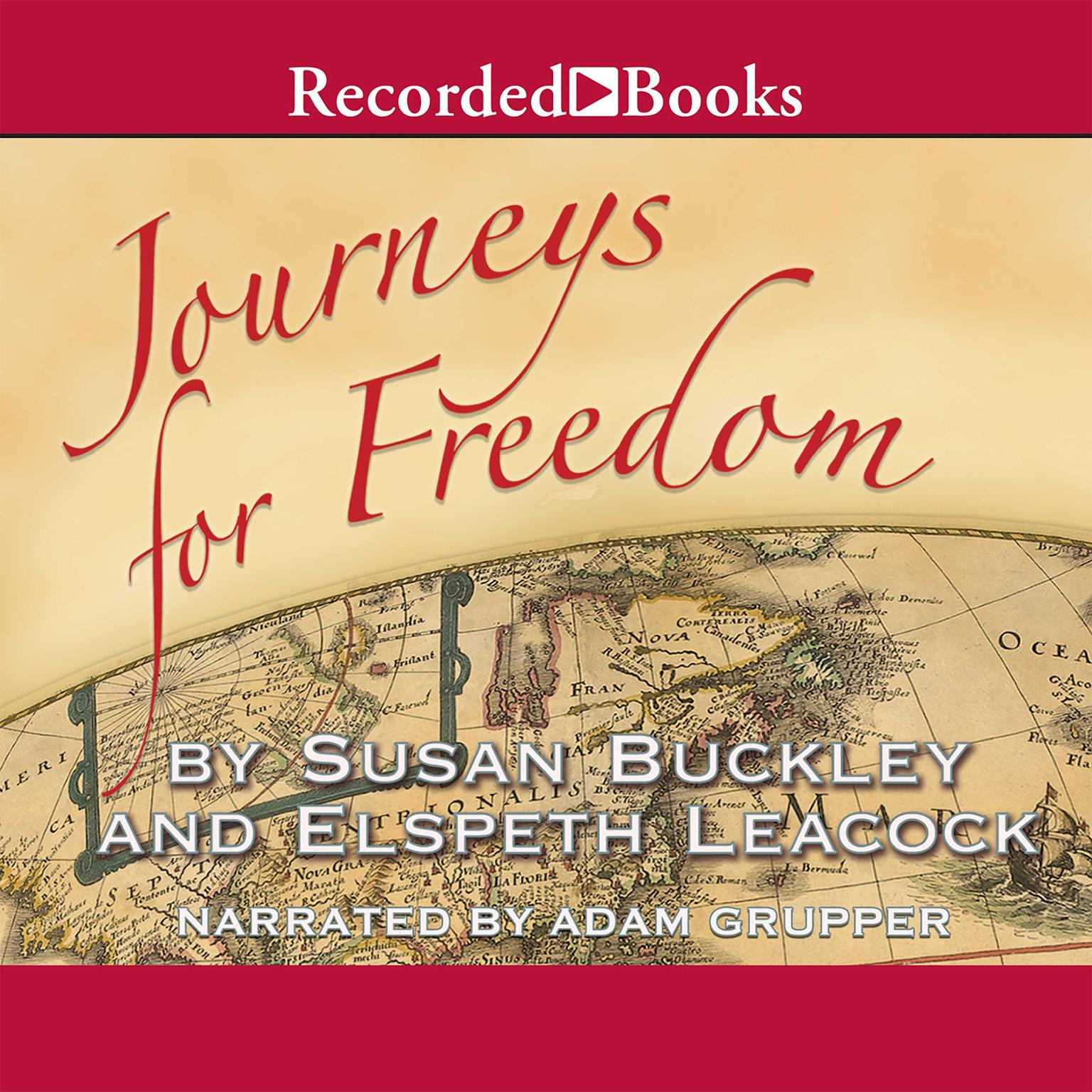 Printable Journeys for Freedom: A New Look at America's Story Audiobook Cover Art