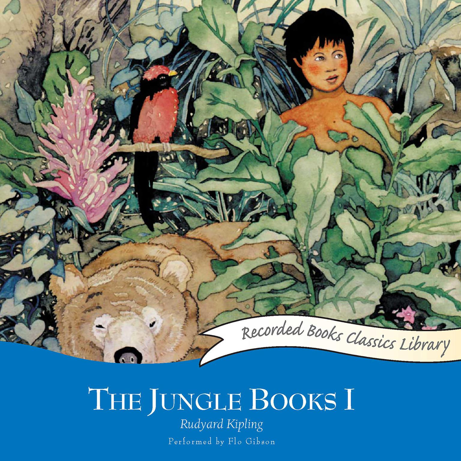 Printable The Jungle Books I Audiobook Cover Art
