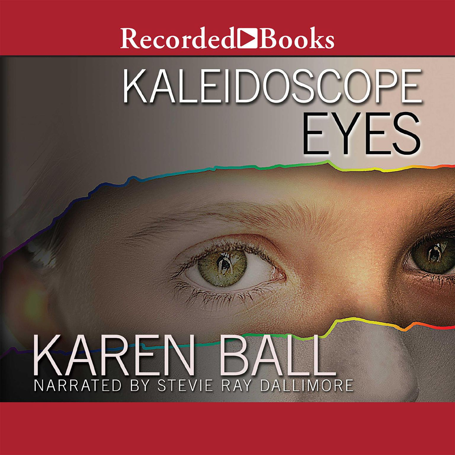 Printable Kaleidoscope Eyes Audiobook Cover Art