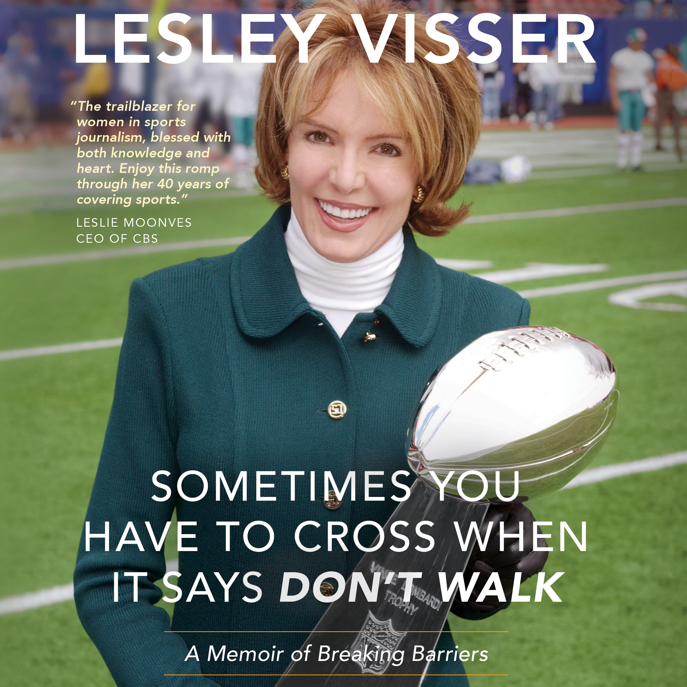 Printable Sometimes You Have to Cross When It Says Don't Walk: A Memoir of Breaking Barriers Audiobook Cover Art