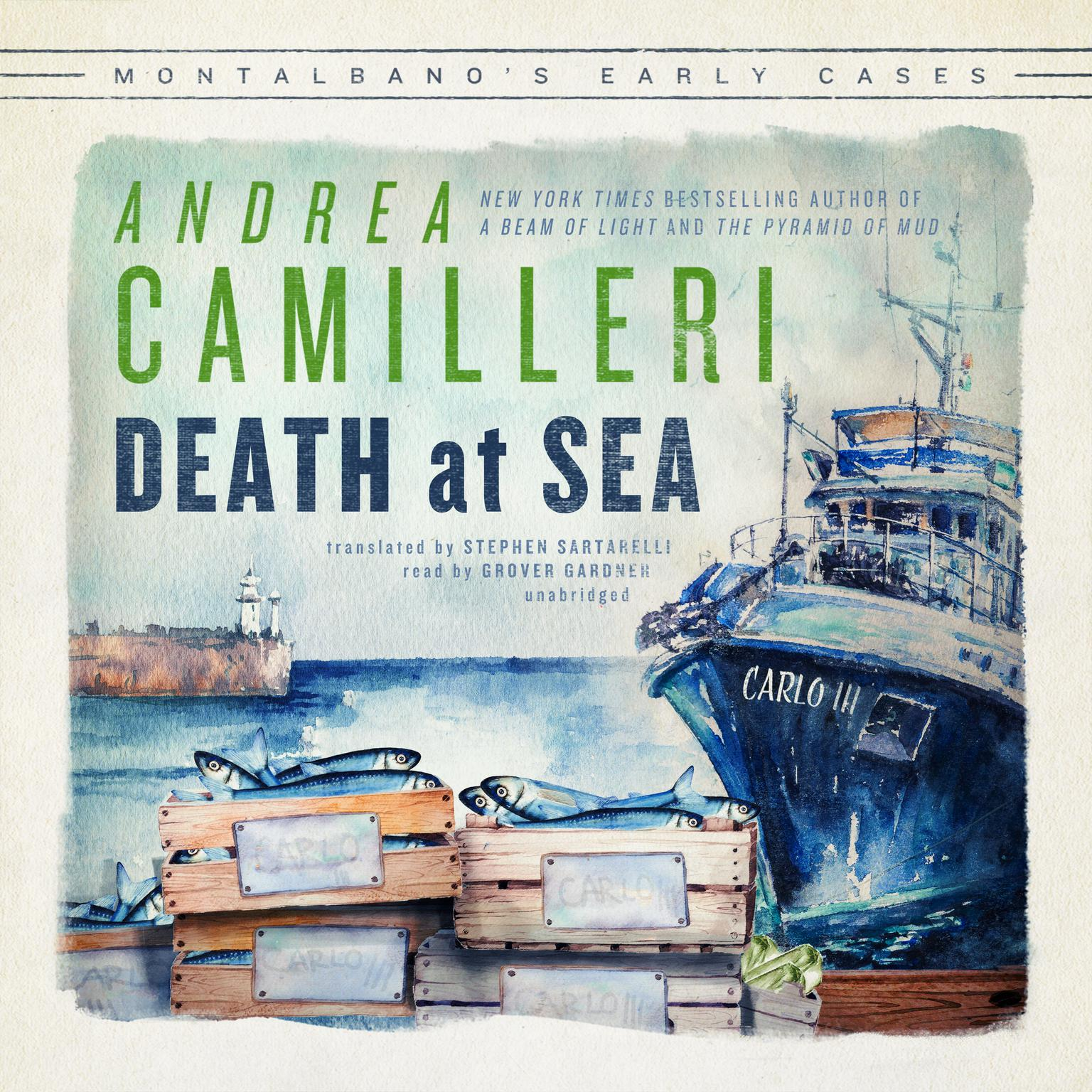 Death at Sea: Montalbano's Early Cases Audiobook, by Andrea Camilleri