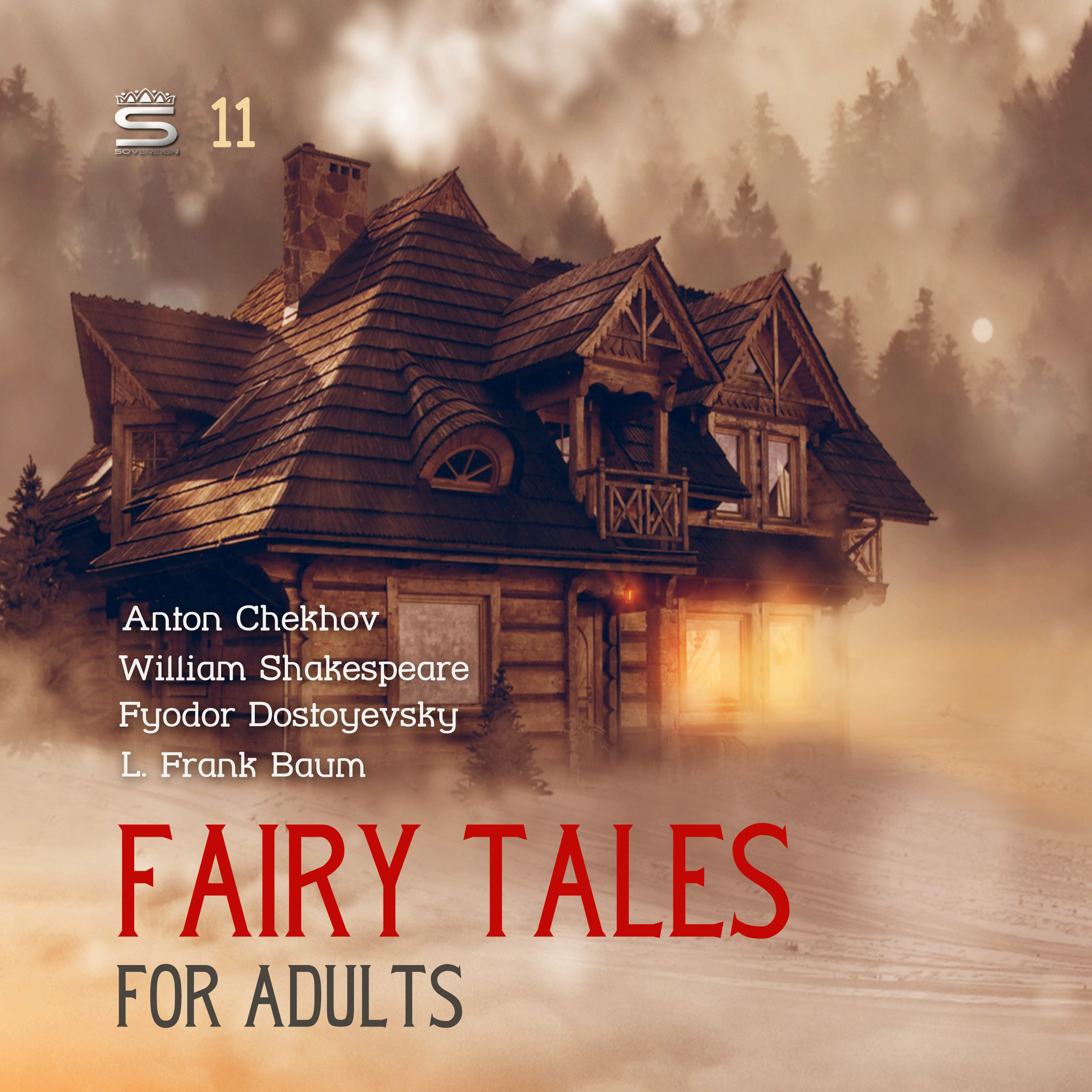 Printable Fairy Tales for Adults Volume 11 Audiobook Cover Art