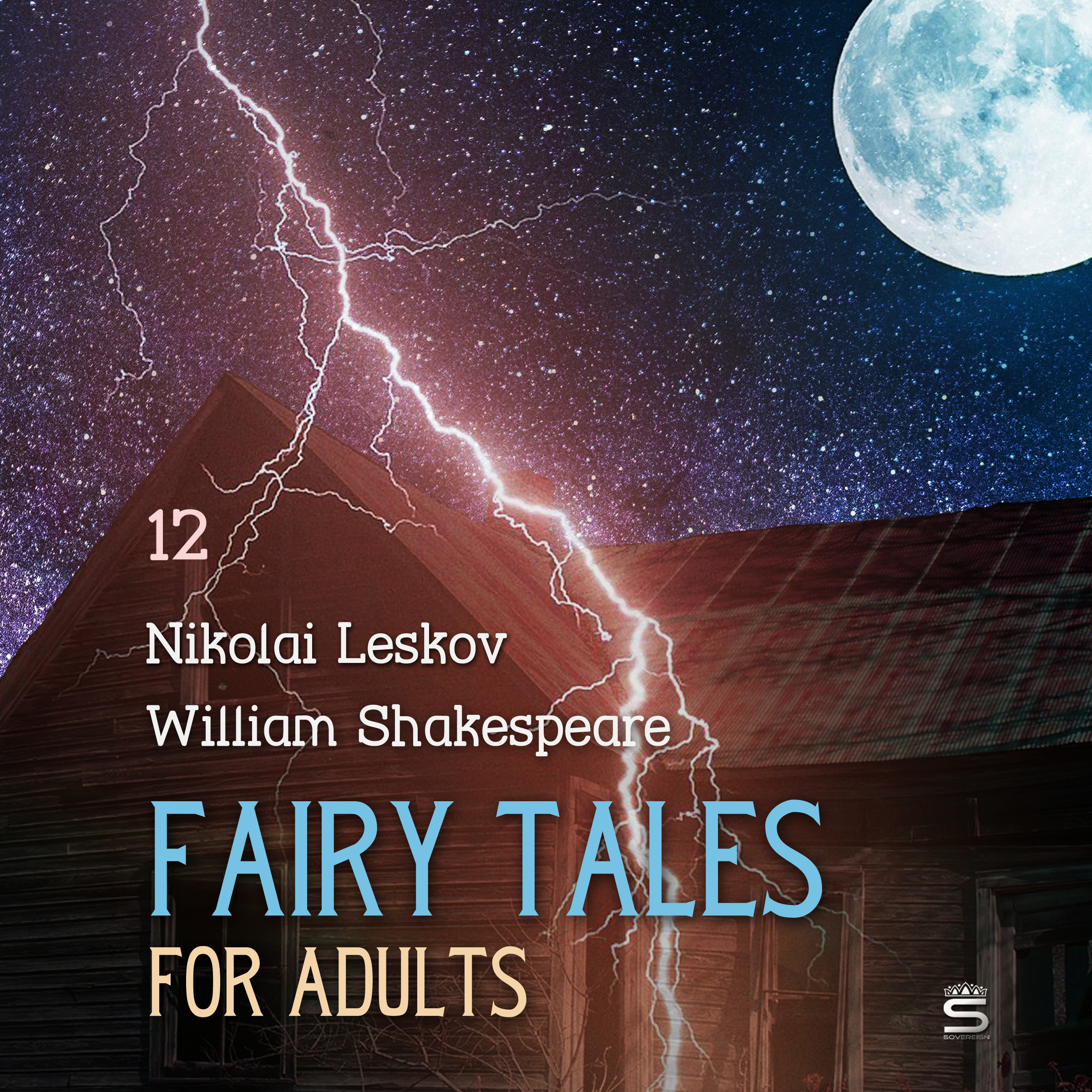 Printable Fairy Tales for Adults Volume 12 Audiobook Cover Art