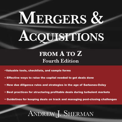 Mergers & Acquisitions from A to Z Fourth Edition Audiobook, by Andrew Sherman