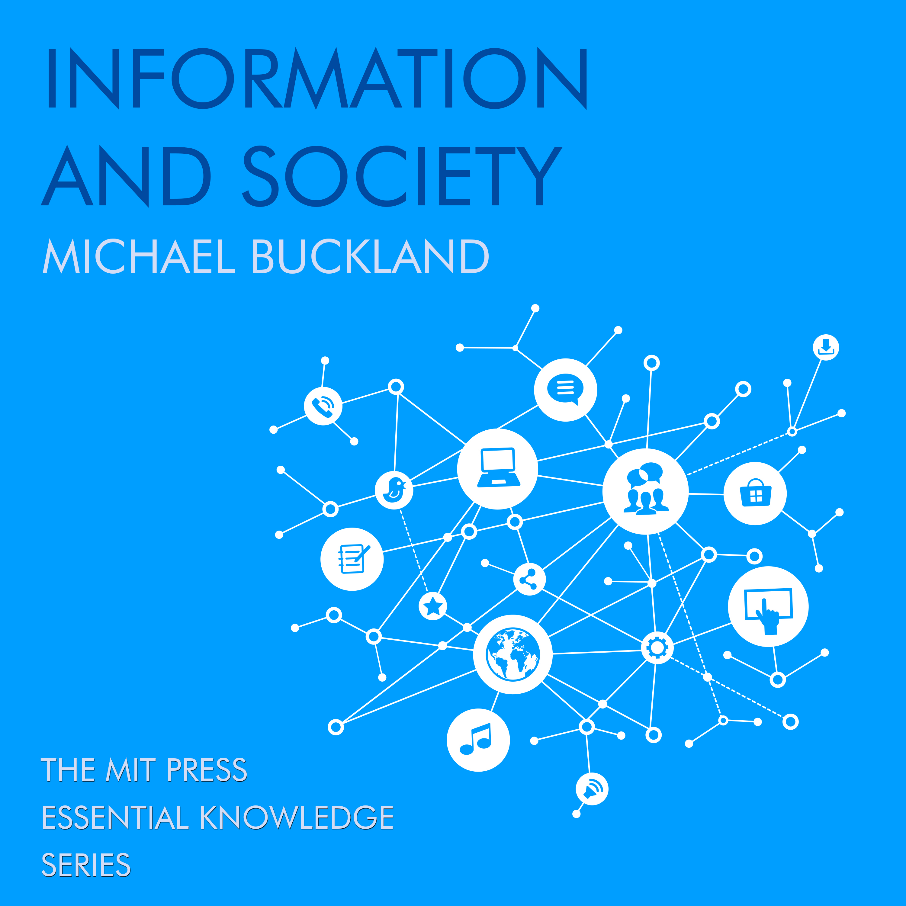 Printable Information and Society Audiobook Cover Art