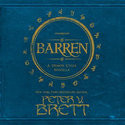 Barren Audiobook, by Peter V. Brett