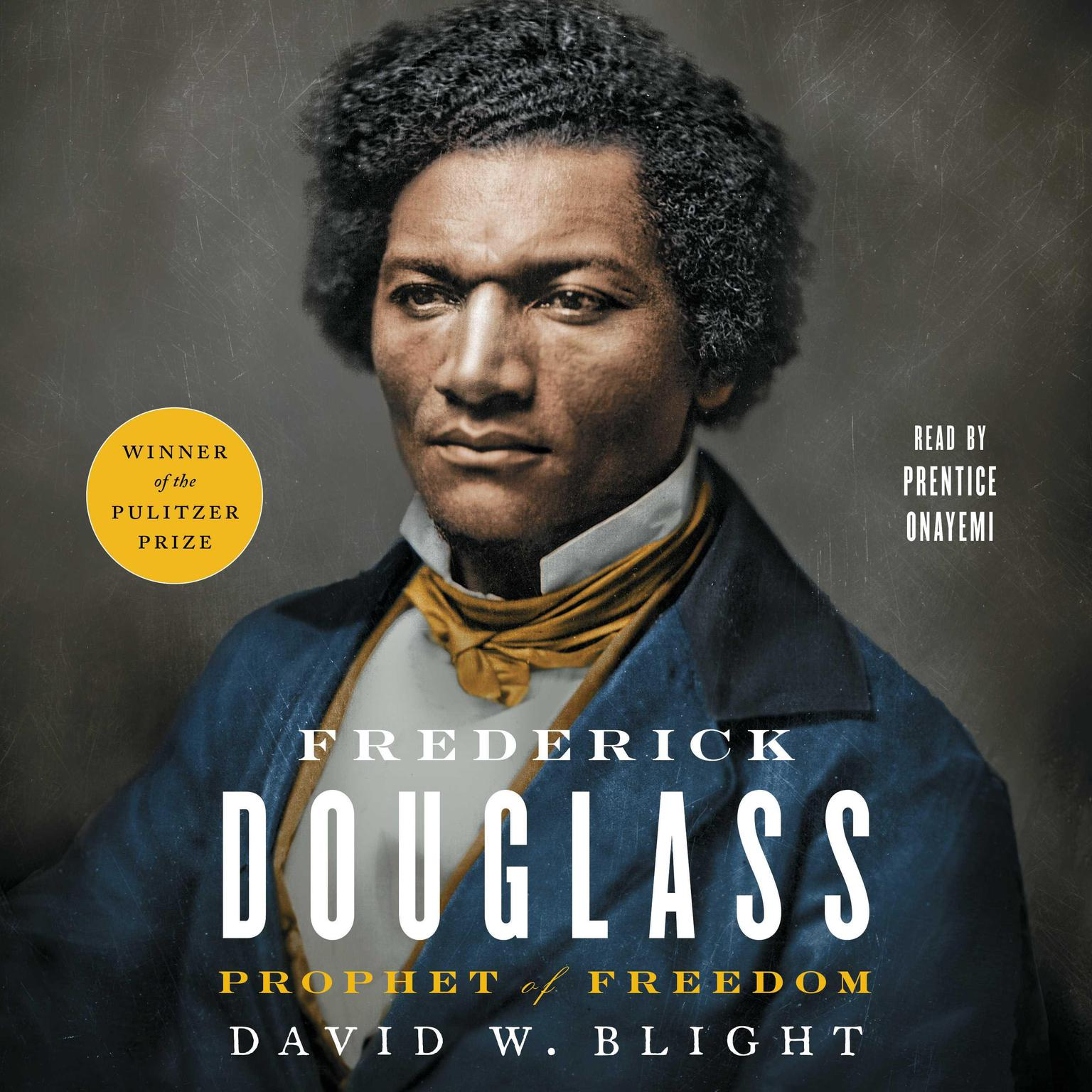 Printable Frederick Douglass: Prophet of Freedom Audiobook Cover Art