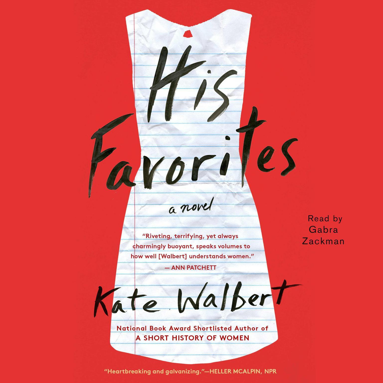 Printable His Favorites Audiobook Cover Art