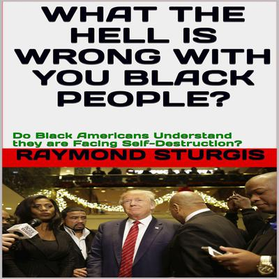 What the Hell Is Wrong with You Black People?: Do Black Americans Understand they are Facing Self-Destruction?: Do Black America Understand they are Facing Self-Destruction? Audiobook, by Raymond Sturgis
