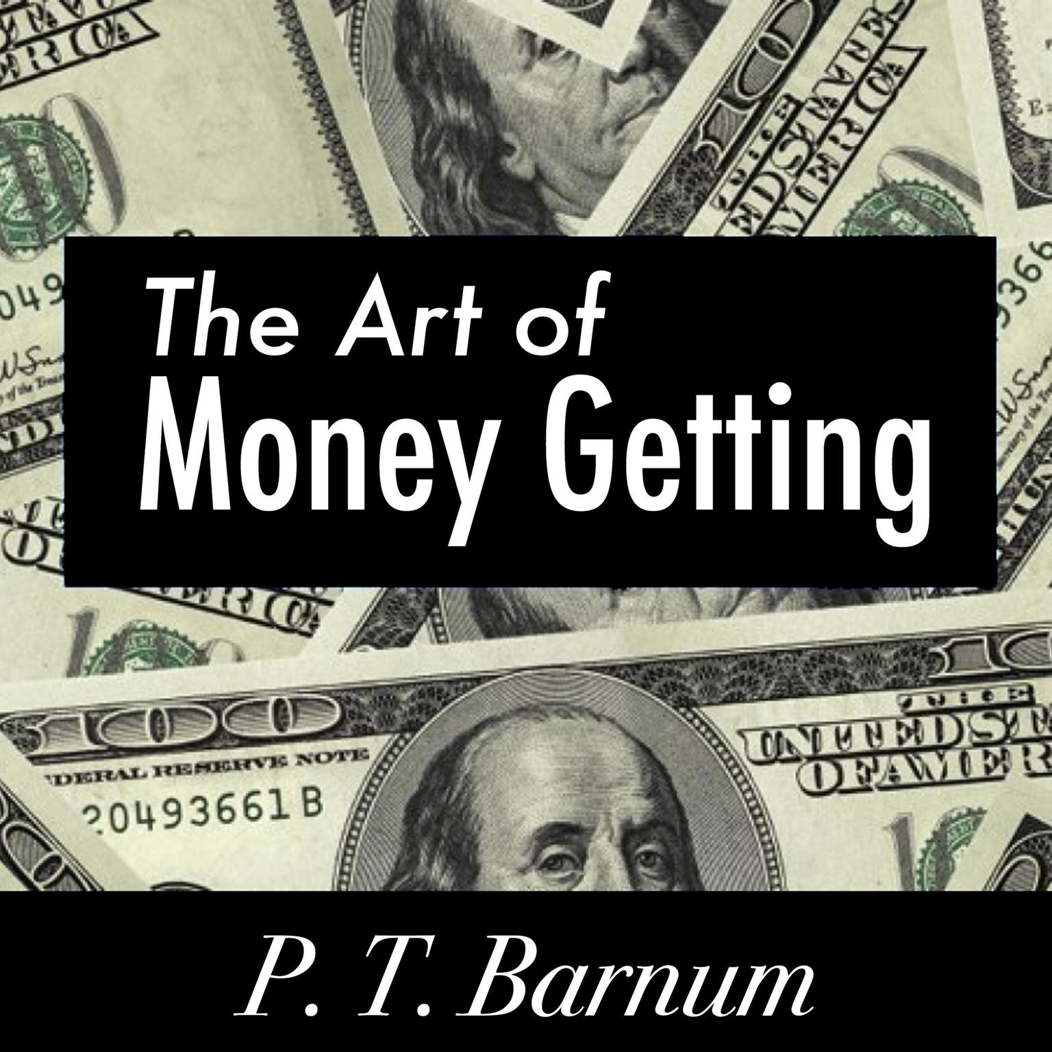 Printable The Art of Money Getting Audiobook Cover Art