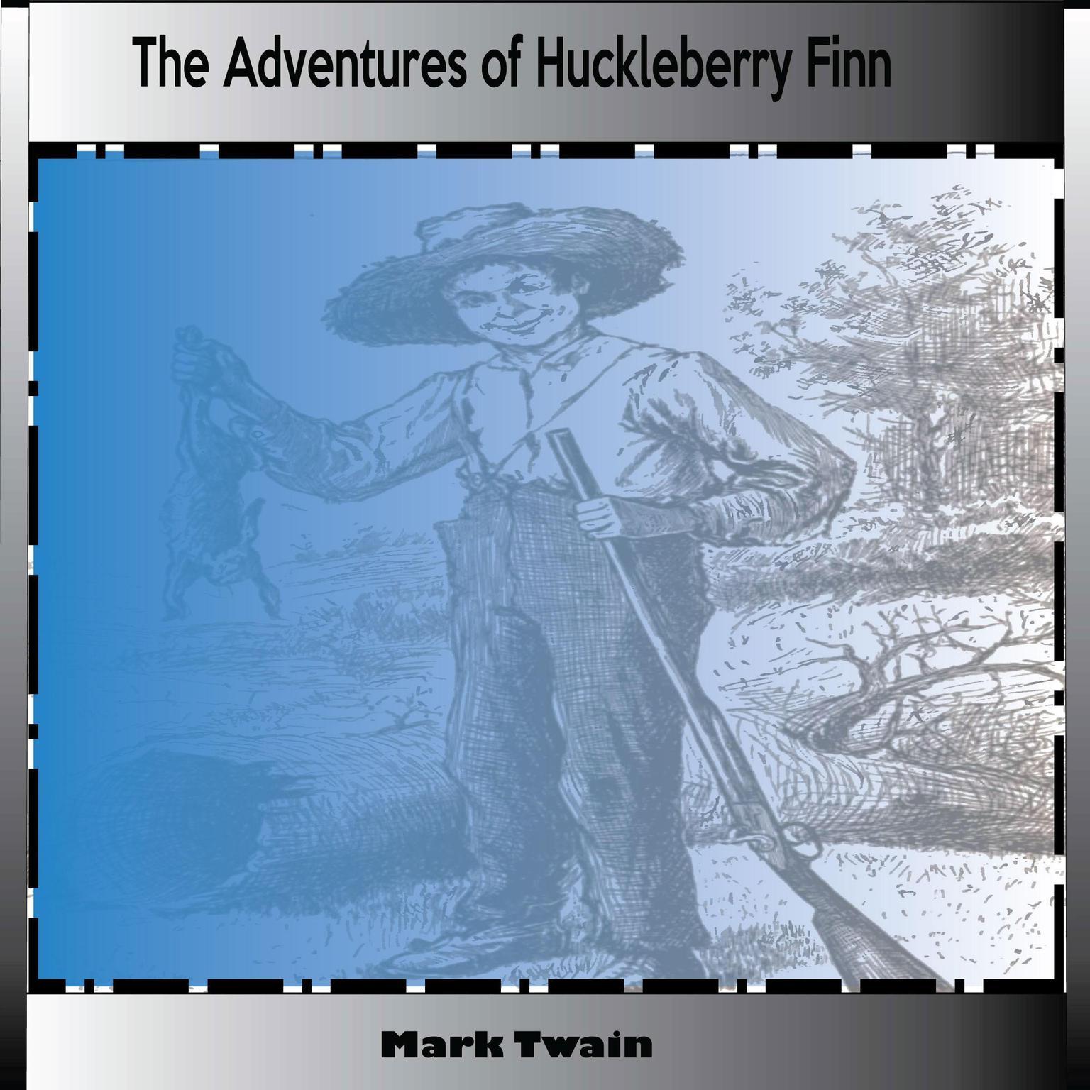 Printable The Adventures Of Huckleberry Finn Audiobook Cover Art
