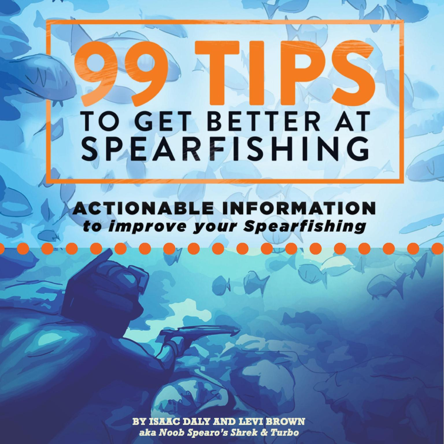 99 Tips to Get Better at Spearfishing: Actionable Information to Improve Your Spearfishing Audiobook, by Levi Brown