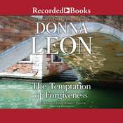 The Temptation of Forgiveness Audiobook, by Donna Leon