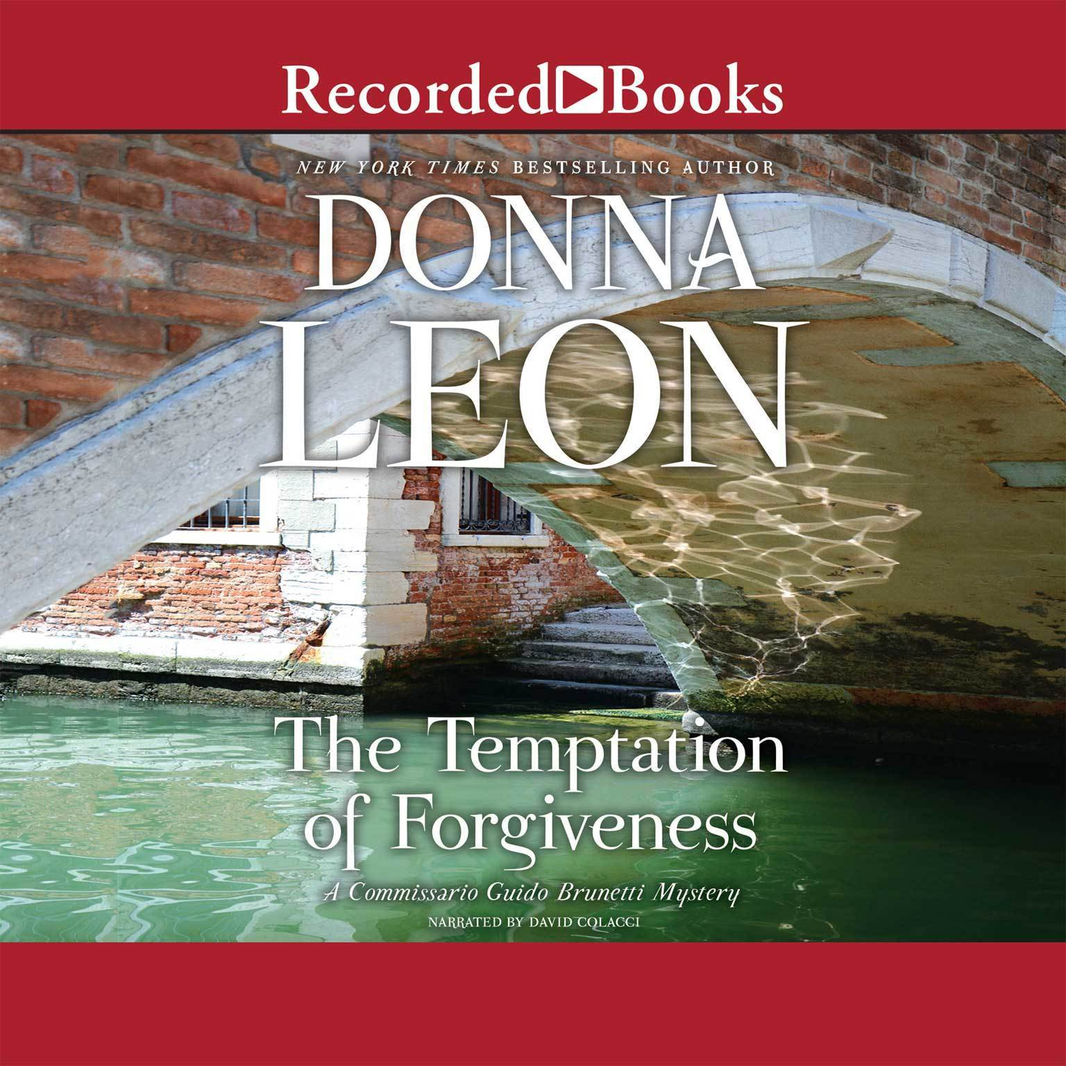 Printable The Temptation of Forgiveness Audiobook Cover Art
