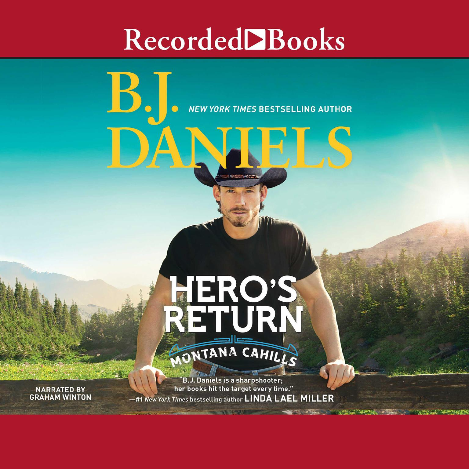 Printable Hero's Return Audiobook Cover Art