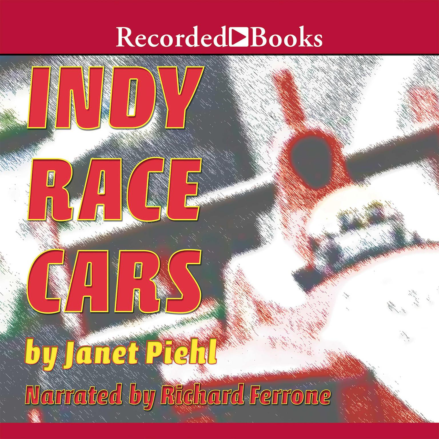 Printable Indy Race Cars Audiobook Cover Art